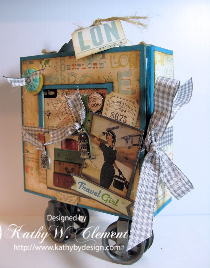 Creativity Whimsy Await Disney Cruise Line Guests Aboard: Travel Girl Luggage Mini Album
