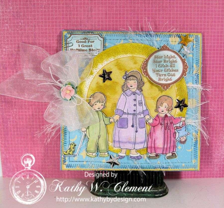 Kathy by Design/Bedtime Kids Birthday Card