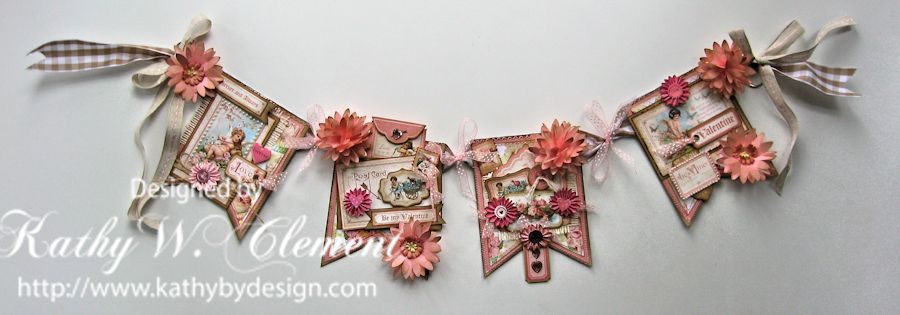 Kathy by Design Valentine Banner Tutorial
