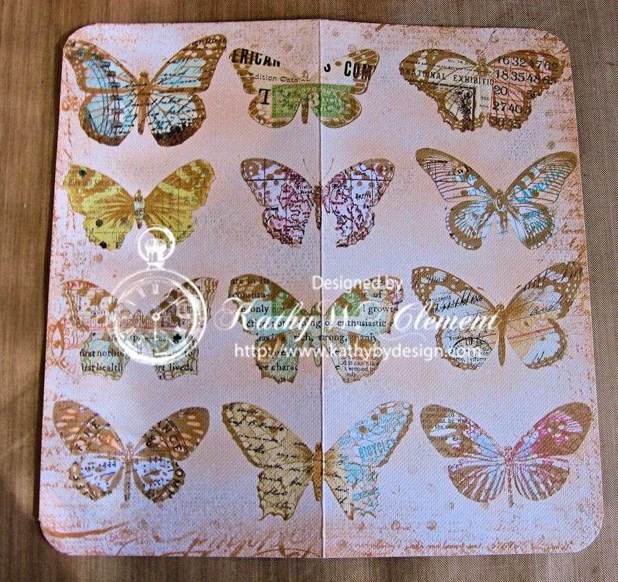 Butterfly memo tutorial 01