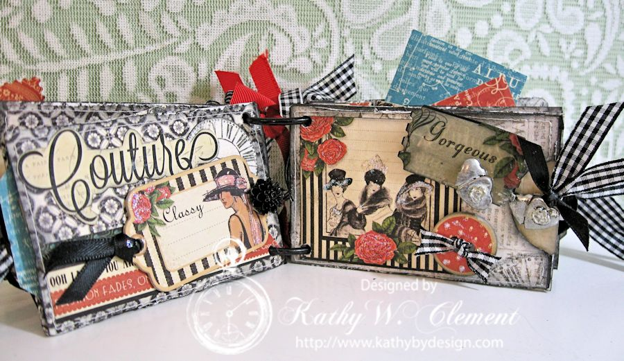 Graphic 45 Couture TP mini/Kathy by Design