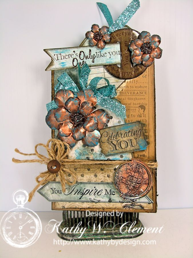 Kathy by Design/Double Pocket Card Tutorial