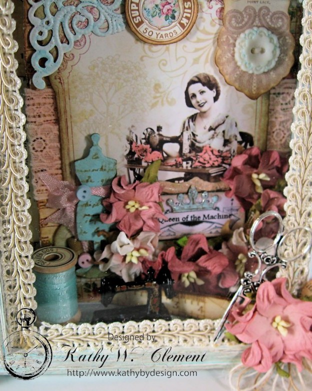 Sew Decorative Altered Frame 03