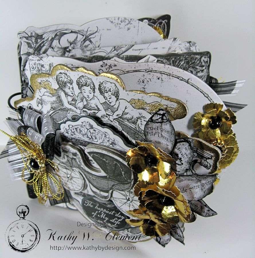Kathy by Design/Black & White Wedding Album