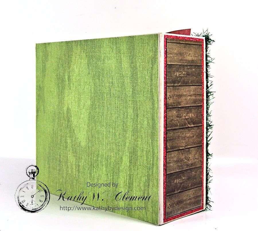 Pollys Paper Christmas Creativity Kit altered art box 12