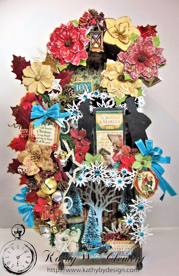 Kathy by Design/Gypsy Soul Lasercuts Christmas House 01