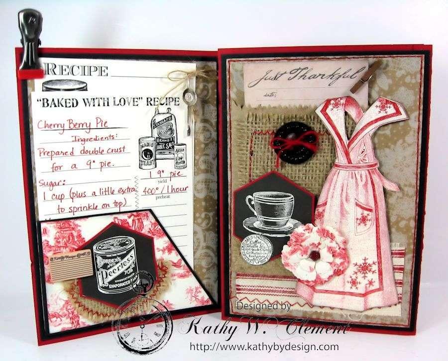tri fold christmas card ccb 03 - Tri Fold Christmas Cards