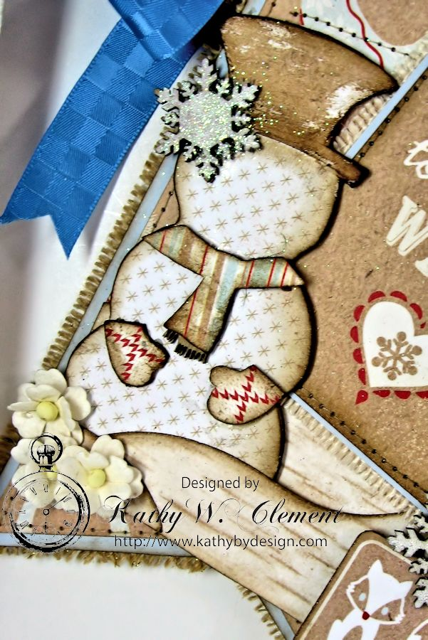 Authentique Cozy Winter Banner for Gypsy Soul Laser Cuts 07