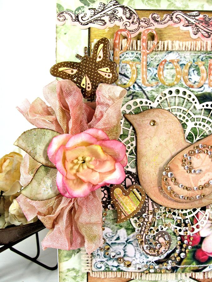 Shabby Chic Bloom Card for RRR 05