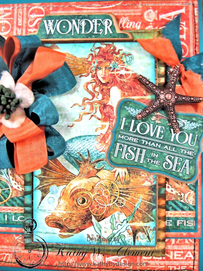 More than all the fish in the sea birthday card Kathy by Design 02