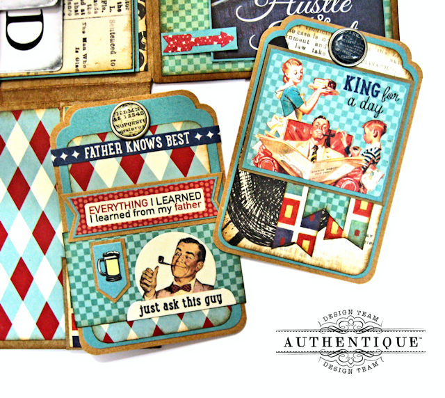 Dear Old Dad Father's Day Gift Wallet with Authentique Dapper Collection by Kathy Clement Photo 8