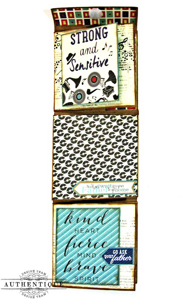 Dear Old Dad Father's Day Gift Wallet with Authentique Dapper Collection by Kathy Clement Photo 4