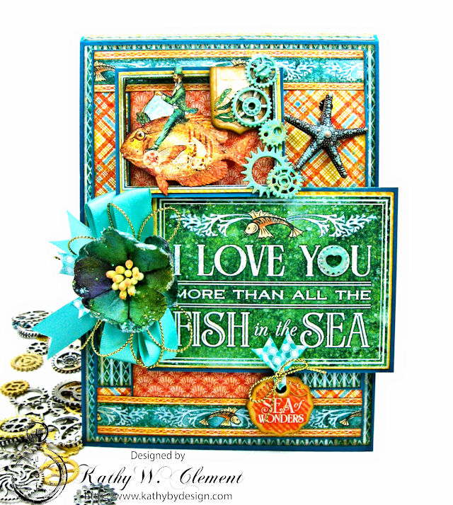 More than all the fish in the sea card folio voyage for All the fish in the sea