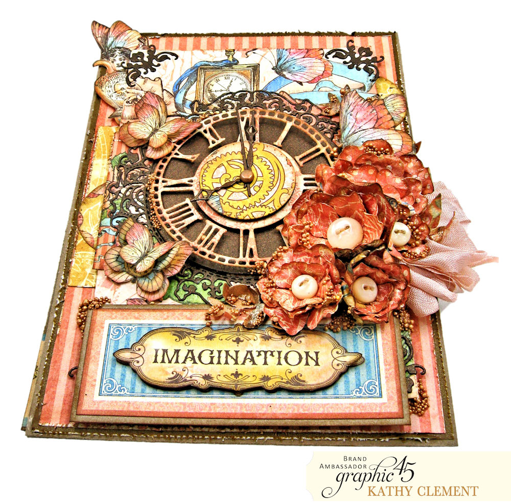 Imagination All Occasion Greeting Card Imagine By Kathy Clement