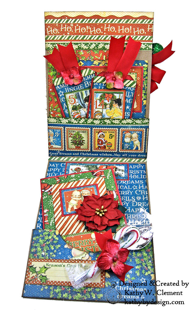 Holiday Cheer Christmas Card Christmas Magic by Kathy Clement for ...